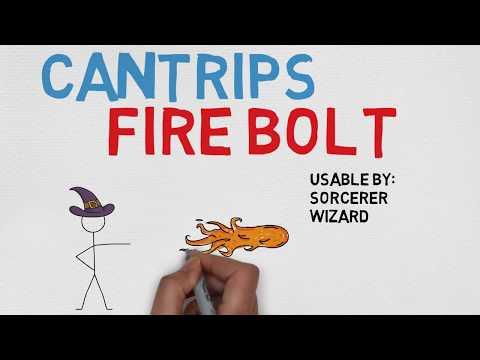 CANTRIP #11: Fire