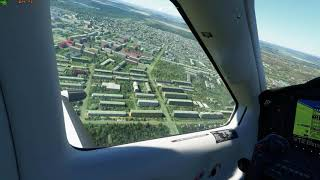 г Кумертау в Microsoft Flight Simulator 2020