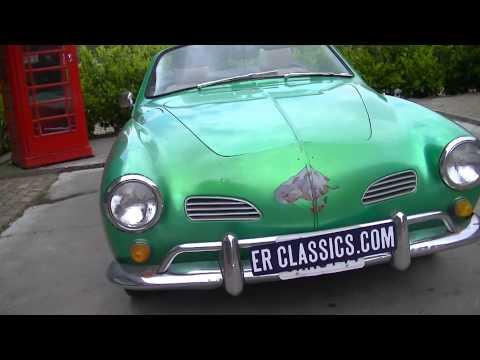 Volkswagen Karmann Ghia Cabriolet 1970 -VIDEO- www.ERclassics.com