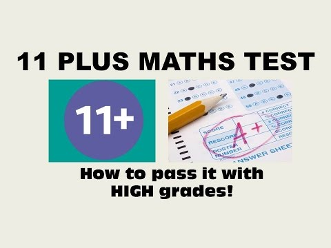 11 Plus Eleven Plus Maths Test Questions And Answers How To Pass 11 Maths