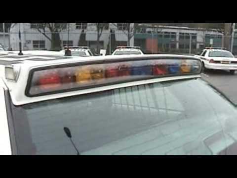 Ford F150 Light Bar >> Old Whelen Lightbar - YouTube