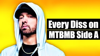 "Every Diss On EMINEM's ""Music To Be Murdered By"" Album [MGK, Cardi B, Jamar, Mumble Rap etc.]"