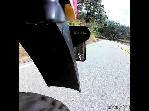 Yamaha xt600 classic 1989 mountain road