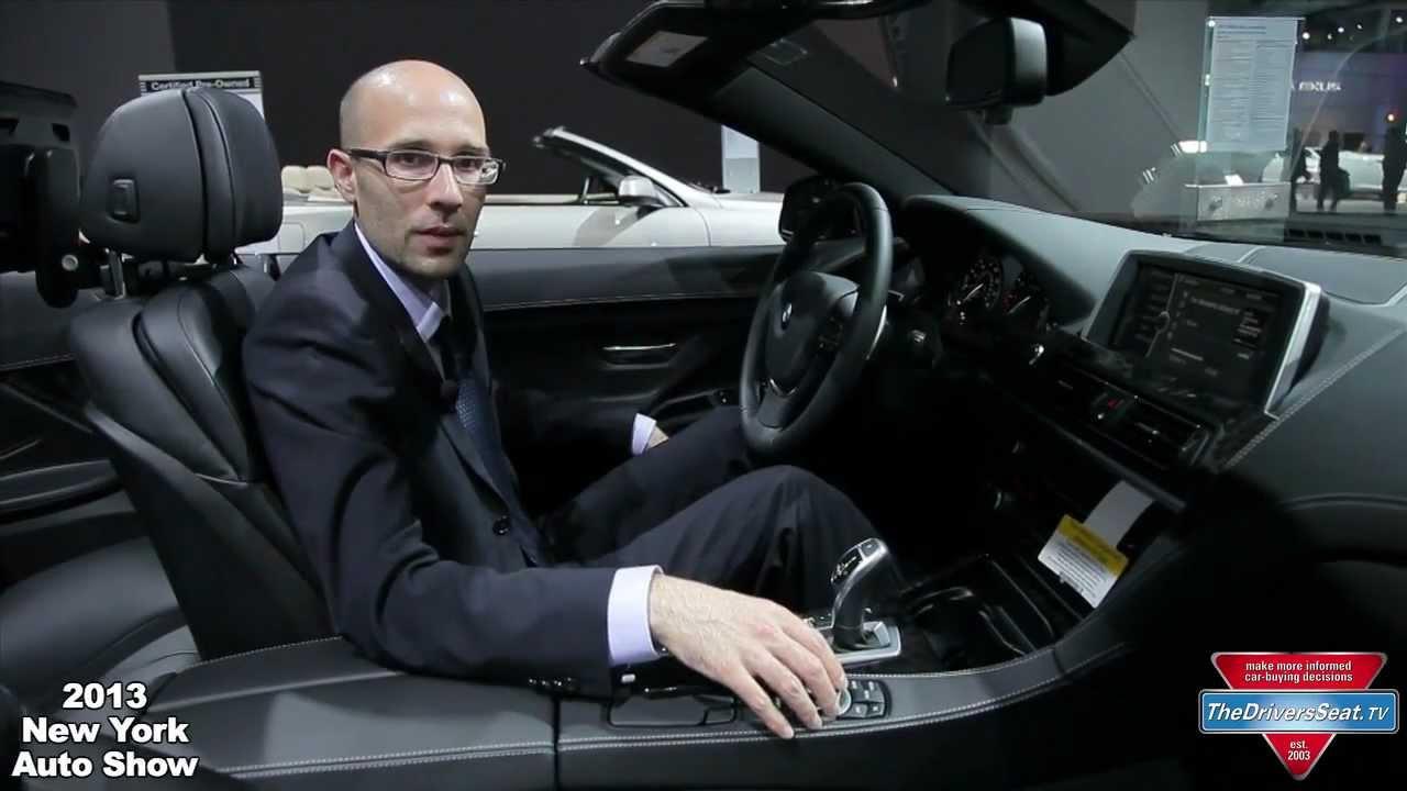 new bmw apps - 2013 new york auto show