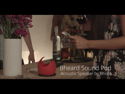 Bheard Sound Pod Acoustic Speaker