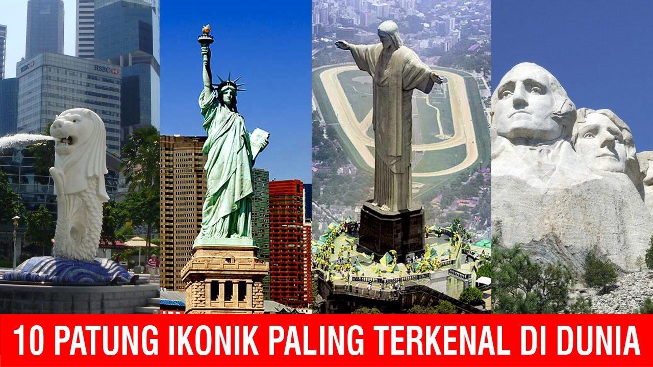 10 Patung Ikonik Paling Terkenal Di Dunia