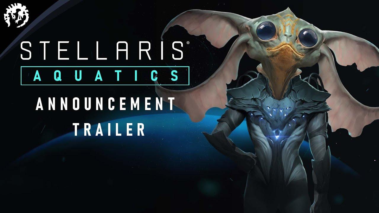 Stellaris: Aquatics Species Pack | Announcement Trailer | Wishlist Now