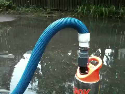 Water Removal, Flooded Home, Flygt Pump Massachusetts   YouTube