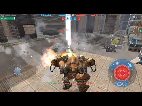 War Robots - Squad Journal #27- Beacon Rush - Steel Forge [sƒ] vs Iron Smiles [ツ]