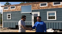 2.7KW Off Grid Tiny House Solar install and 30 foot tiny house tour in tropics