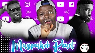 Wow! Magraheb Reacts to SARKODIE Oofeetso ft Bright [Buk Bak] Video 🔥