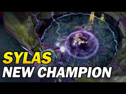 Sylas: The Unshackled champion abilities revealed! New Champion that steals your ultimate