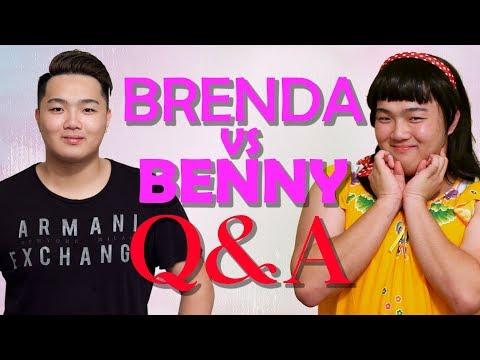 Brenda vs Benny 超爆笑 Q&A