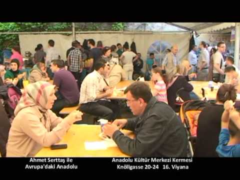 9 Haziran Avrupa'daki Anadolu Anadolu Kültür Merkezi Kermes