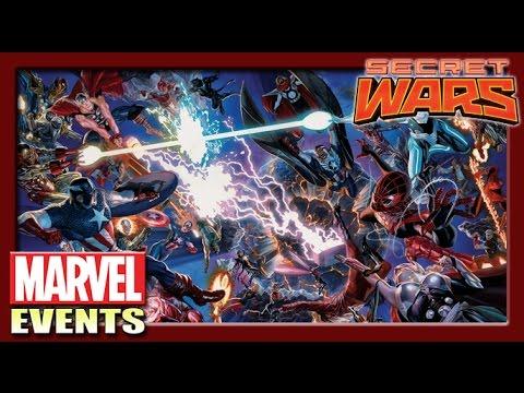 Secret Wars : ศึกลับกู้จักรวาล!!  [Marvel Events]