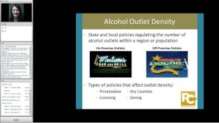 The role of alcohol policies to prevent intimate partner violence and sexual violence perpetration