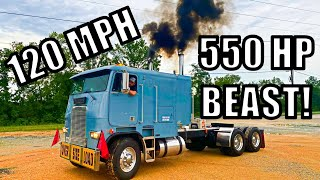 Cabover gets 550 Horse Power Tune up and SICK rev Limiter!!!