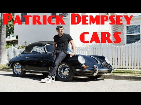 Patrick Dempsey Cars Collection 2017 Youtube