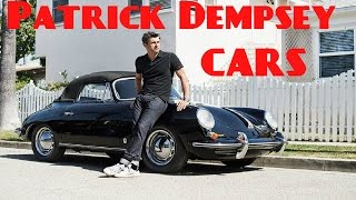 Gambar cover Patrick Dempsey cars collection  2017