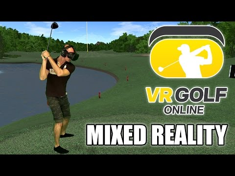 VR Golf Online Mixed Reality HTC Vive Gameplay - Let´s play Virtual Reality Golf again!