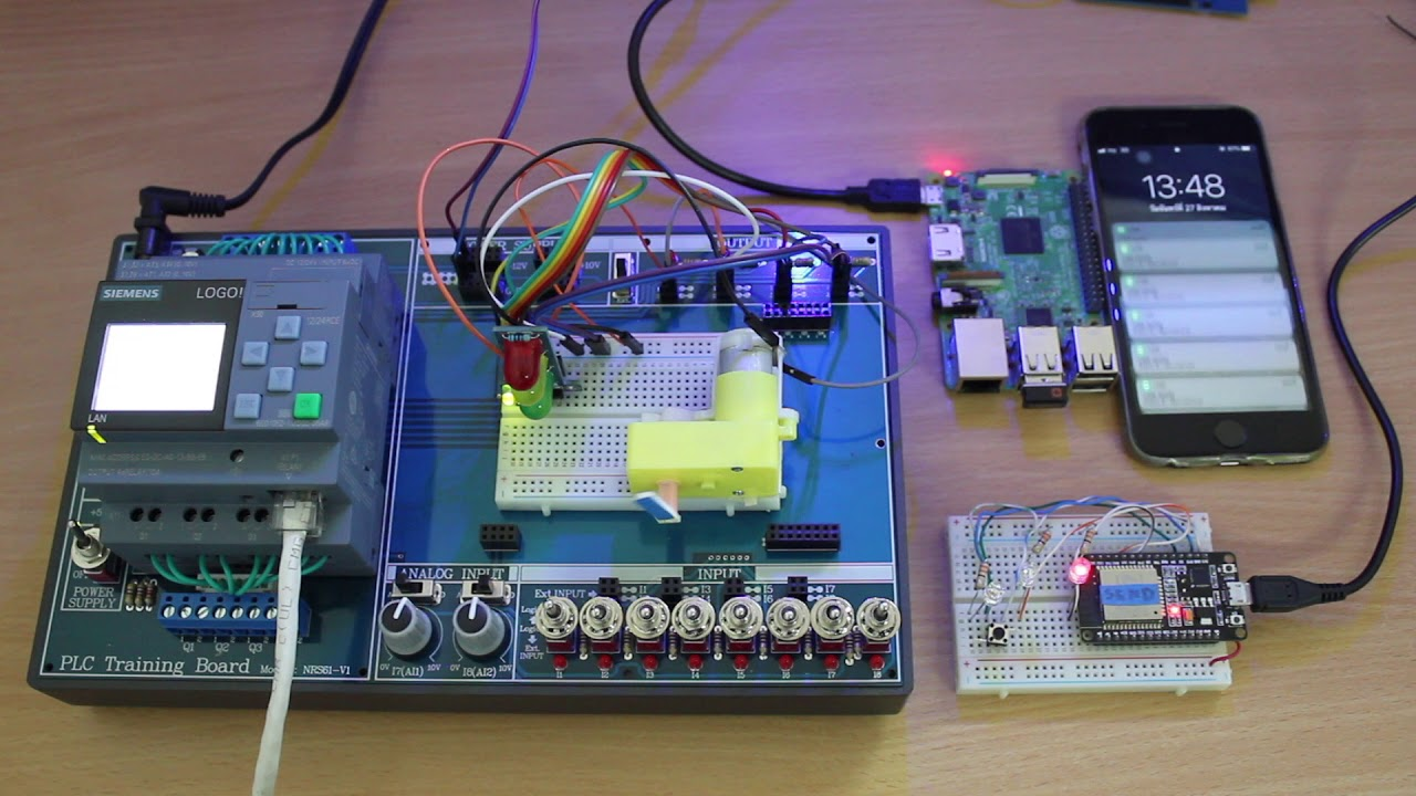 IoT Power Monitoring and Control System