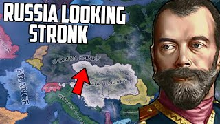 What if Russia Won WW1?! HOI4