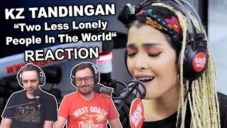 """""""KZ Tandingan - Two Less Lonely People In The World"""" Singers Reaction"""