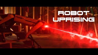 Boston Dynamics Robots Go Berserk