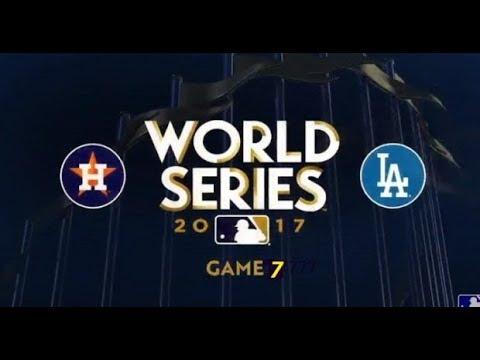 World Series Game 7 World Series Live Stream Dodgers Vs Astros World Series Stream Youtube
