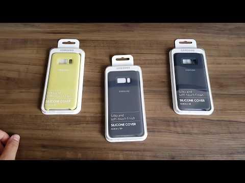 Capa Silicone Cover para Galaxy S8 S8 Plus Original Samsung