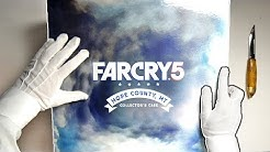 FAR CRY 5 COLLECTOR'S EDITION UNBOXING! Limited Hope County MT Case Deer Skull Gameplay