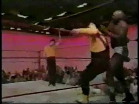 Classic Memphis Ricky Morton/King vs Assasins Wrestling 1979