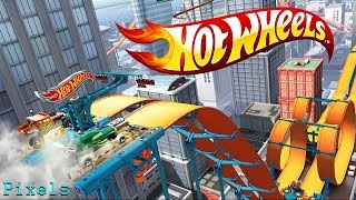 Hot Wheels Race Off - Level 1 to 10 All 10 levels 3 Stars