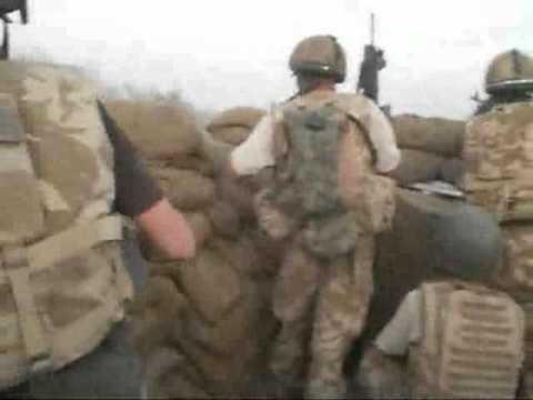 Afghanistan Raw Combat Footage Sangin Firefight