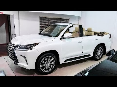The $340,000 Lexus SUV Convertible