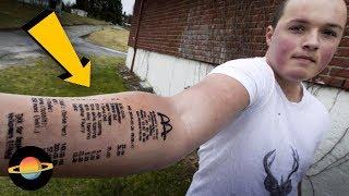 10 obciachowych tatuaży, które zrobili sobie ludzie, cz. 2