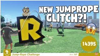 NEW JUMP-ROPE GLITCH (99,999 Jumps) + Experimenting on Stream | Glitch Showcase