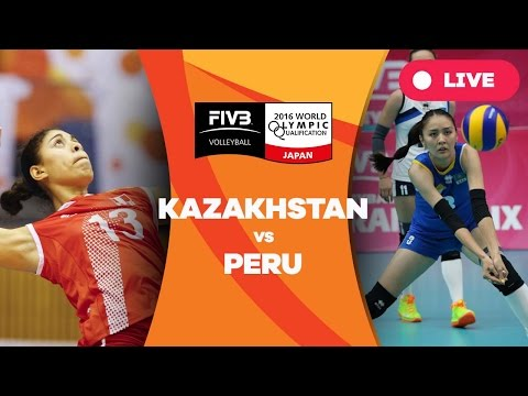 Kazakhstan v Peru - 2016 Women's World Olympic Qualification Tournament