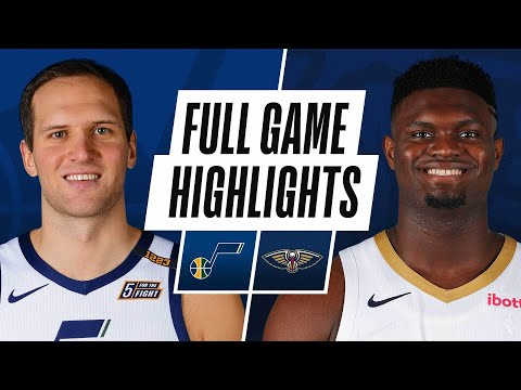 JAZZ at PELICANS | FULL GAME HIGHLIGHTS | March 1, 2021