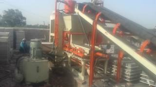 Fully Automatic Fly Ash Bricks Plant with Automatic Pallet Stacker - ENDEAVOUR-i