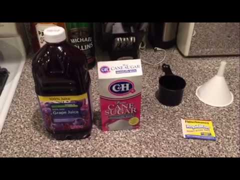 Simplest way to make booze at home