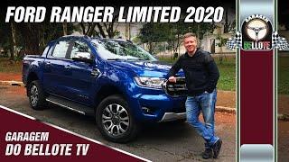 Avaliação Ford Ranger Limited 3.2 diesel 4×4 AT 2020 | Garagem do Bellote TV