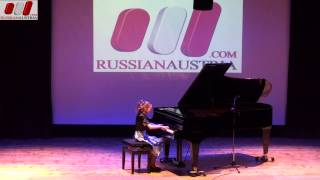 Rondo Mozart. Elena Pashkova (Piano). Gatchina. District in Leningrad. Saint Petersburg. Russia