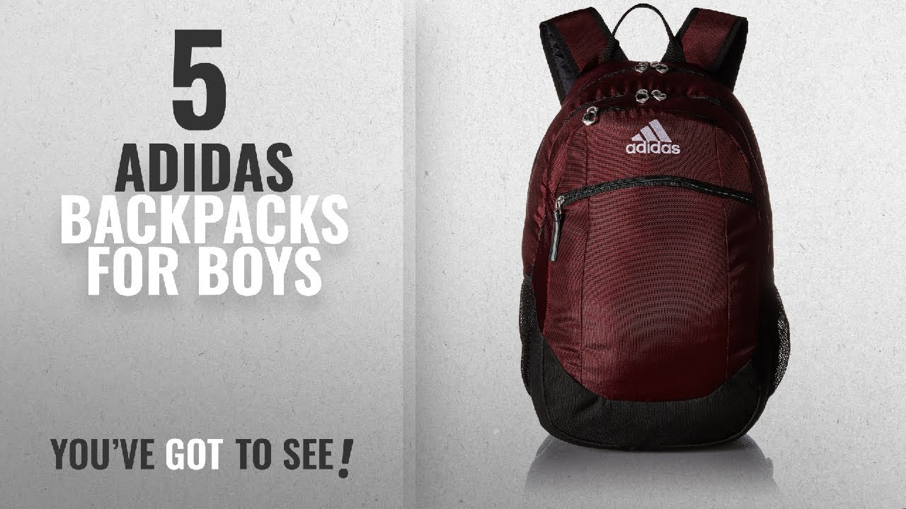 Adidas Backpacks For Boys  2018 Best Sellers   adidas Unisex Striker ... 2672c7315cabb