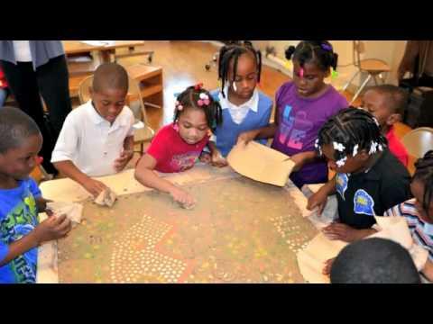 Brown Street Academy art class