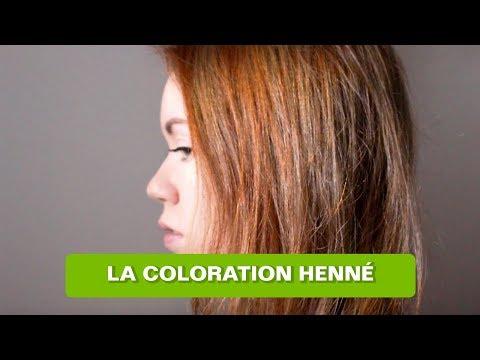 Jai Testé : La Coloration Naturelle LE HENNÉ