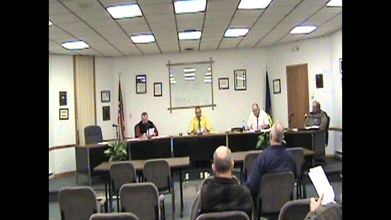 Rouses Point Village Board Meeting  12-21-15