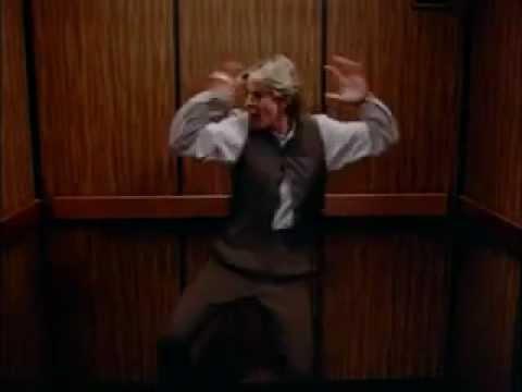 Ellen dancing in an elevator 2x06