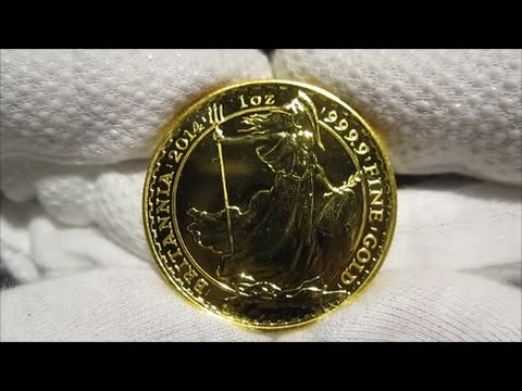 2014 British Britannia Gold Coin 1 Oz