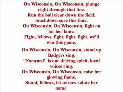 Univ of Wisconsin - Fight Song